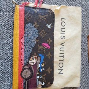 Auth Louis Vuitton Insolite wallet evasion rare